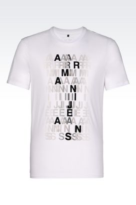 Armani Print t-shirts Men jersey t-shirt