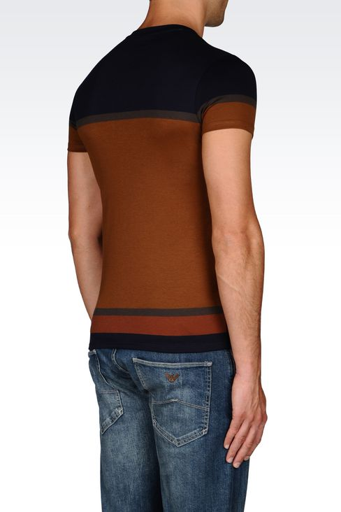 JERSEY T-SHIRT: Print t-shirts Men by Armani - 3