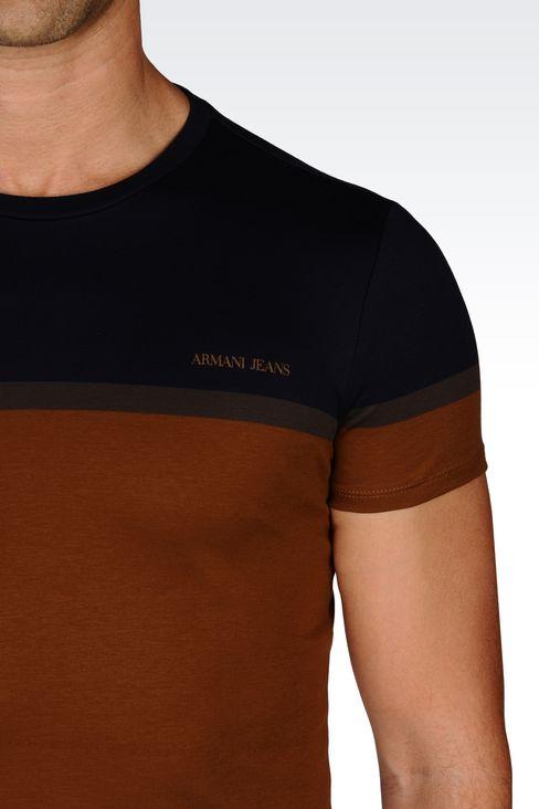 JERSEY T-SHIRT: Print t-shirts Men by Armani - 4