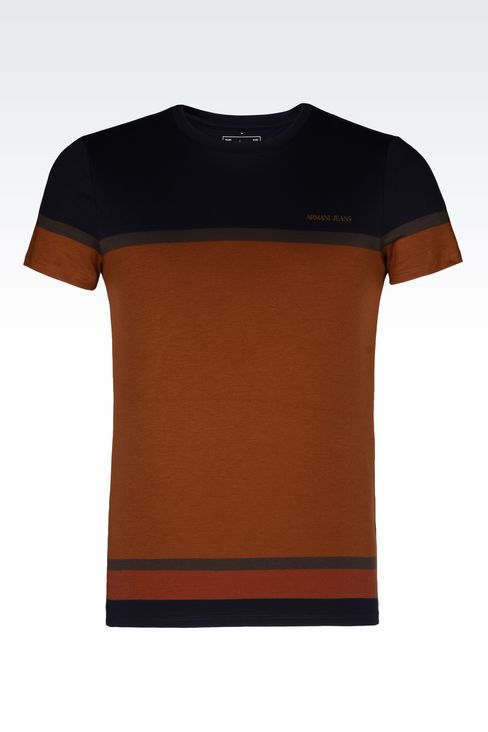 JERSEY T-SHIRT: Print t-shirts Men by Armani - 1