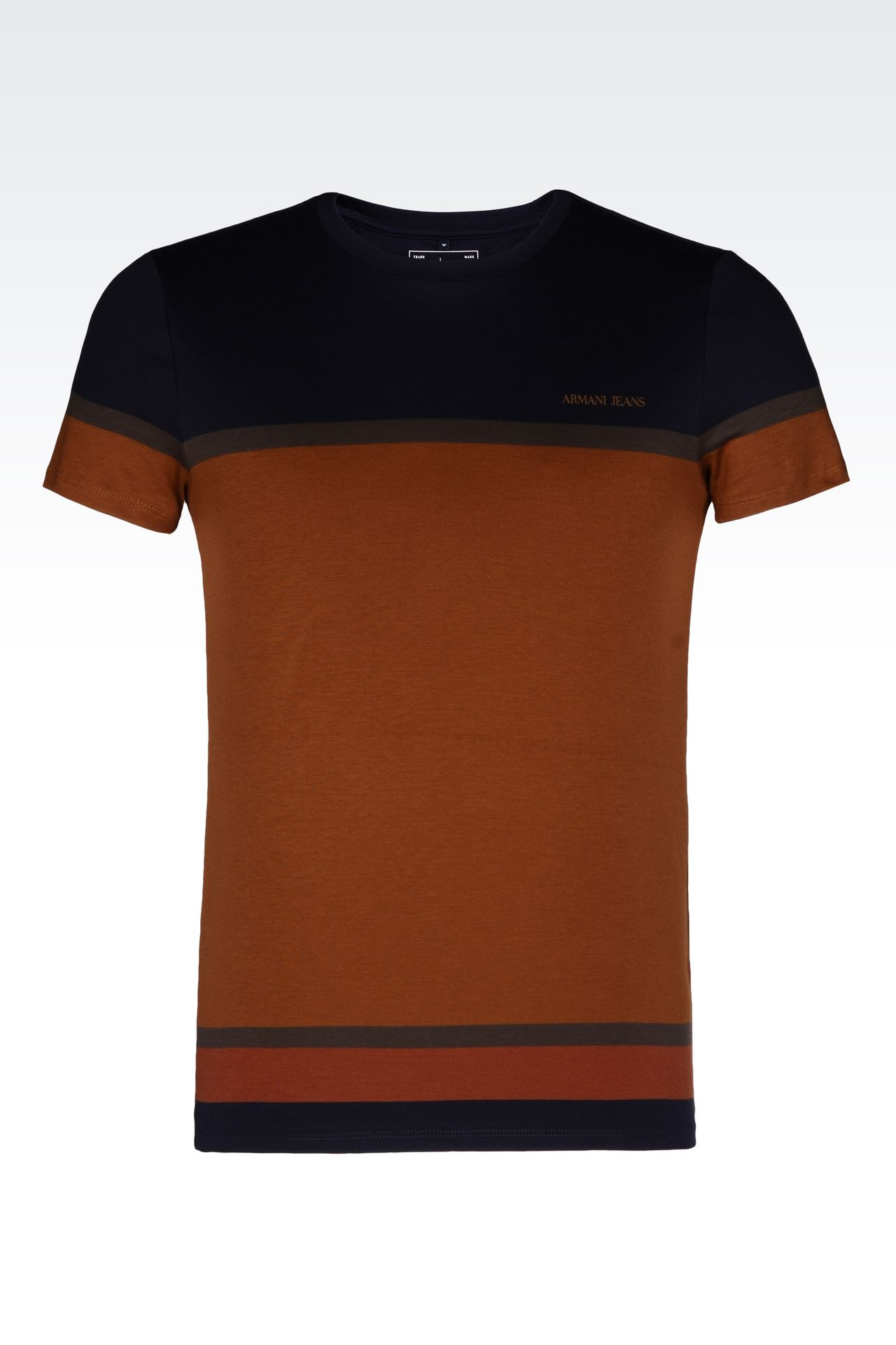 JERSEY T-SHIRT: Print t-shirts Men by Armani - 0