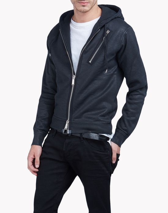 dean fit sweatjacket tops & tees Man Dsquared2