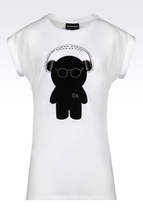 OFFICIAL STORE EMPORIO ARMANI - T-shirts - T-shirts manches courtes on armani.com