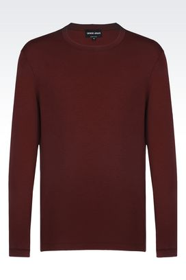 Armani T-shirts Men jersey t-shirt