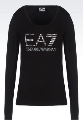 Armani Long sleeved t-shirts Women jersey t-shirt