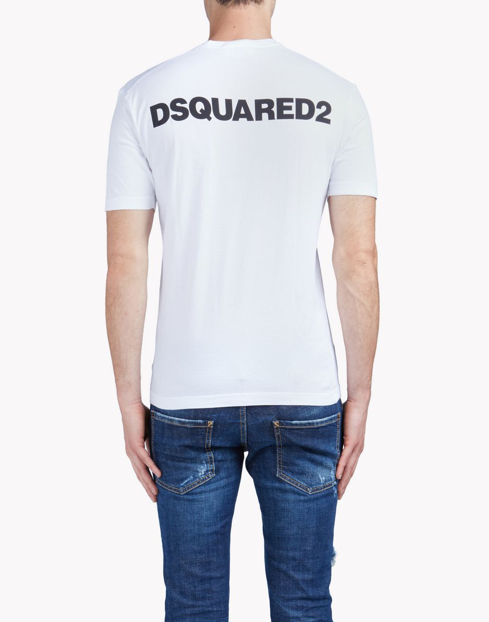 bitch where t-shirt tops & tees Man Dsquared2