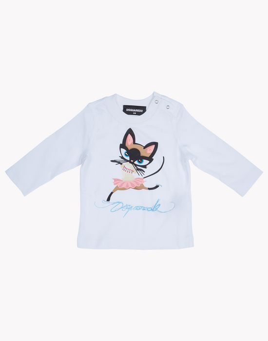 t-shirt tops & tees Woman Dsquared2