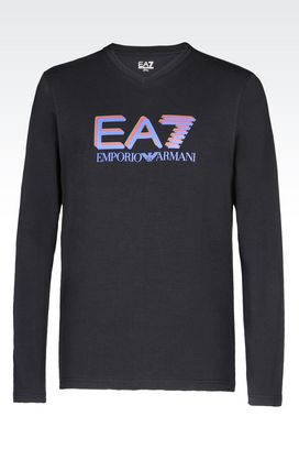 Armani Long sleeved t-shirts Men t-shirts and sweatshirts