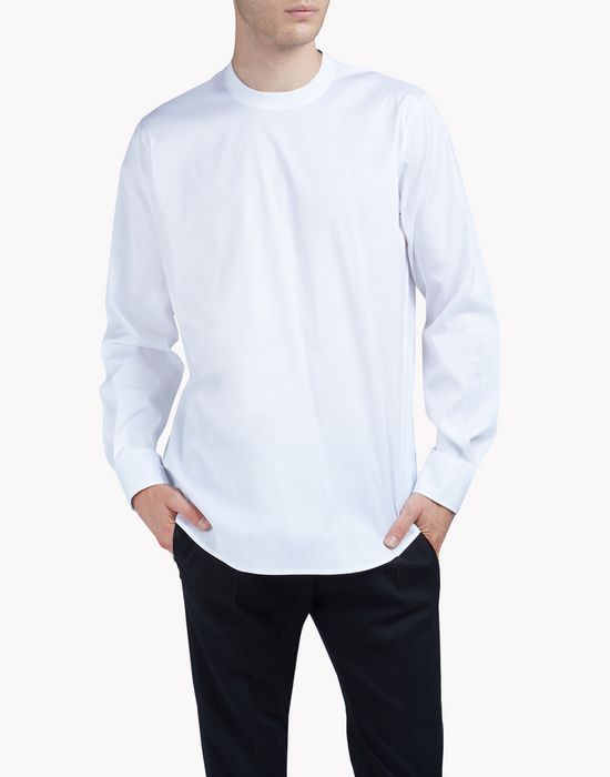 popeline long sleeve t-shirt shirts Man Dsquared2