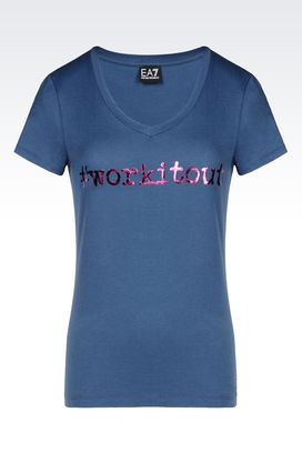 Armani Short sleeved t-shirts Women t-shirts and sweatshirts