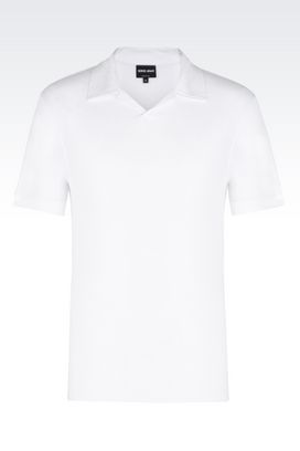 Armani T-shirts Uomo t-shirt polo in jersey