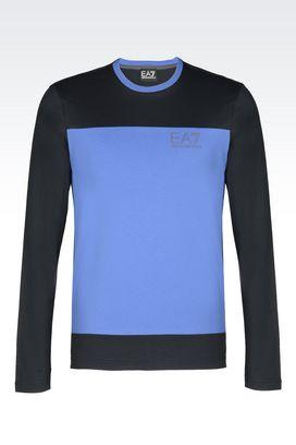 Armani Long sleeved t-shirts Men jersey t-shirt