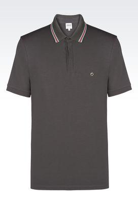 Armani Polo maniche corte Uomo polo in jersey