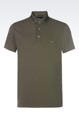 Armani Short-sleeved polo shirts Men t-shirts and sweatshirts