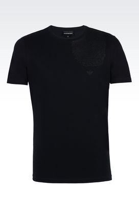 Armani T-shirt maniche corte Uomo t-shirt girocollo in jersey di cotone