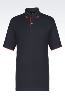 Armani Short-sleeved polo shirts Men t-shirts and sweatshirts