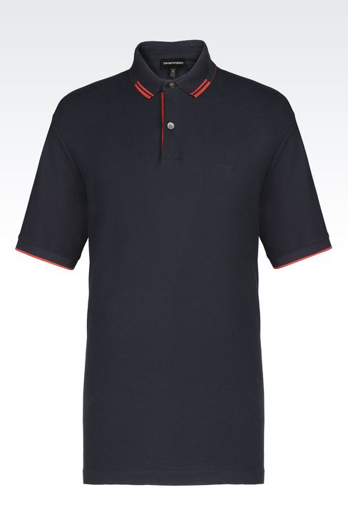 OFFICIAL STORE EMPORIO ARMANI - T-shirts - Polos manches courtes on armani.com