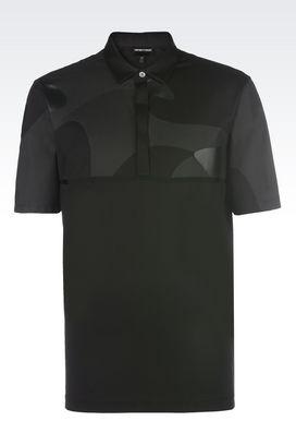 Armani Polo maniche corte Uomo t-shirt polo in jersey di cotone