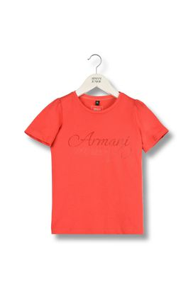 Armani Short-sleeve t-shirts Women jersey t-shirt with turn-up sleeves