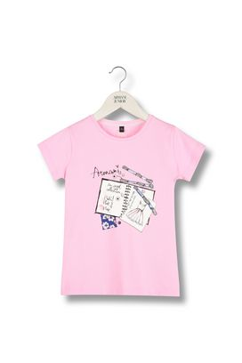 Armani Short-sleeve t-shirts Women flower print jersey t-shirt