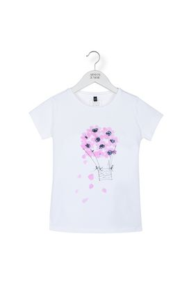 Armani Short-sleeve t-shirts Women flower print jersey t-shirt