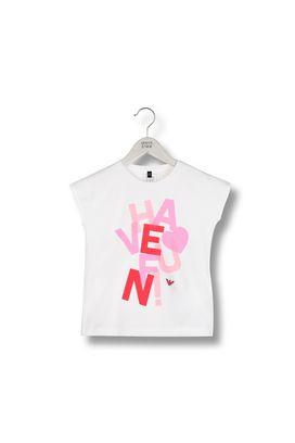 Armani Short-sleeve t-shirts Women jersey t-shirt with logo