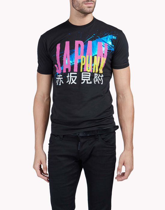 dean fit t-shirt tops & tees Man Dsquared2
