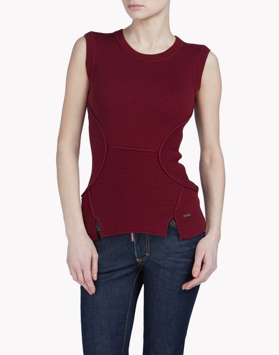 knit vest tops & tees Woman Dsquared2