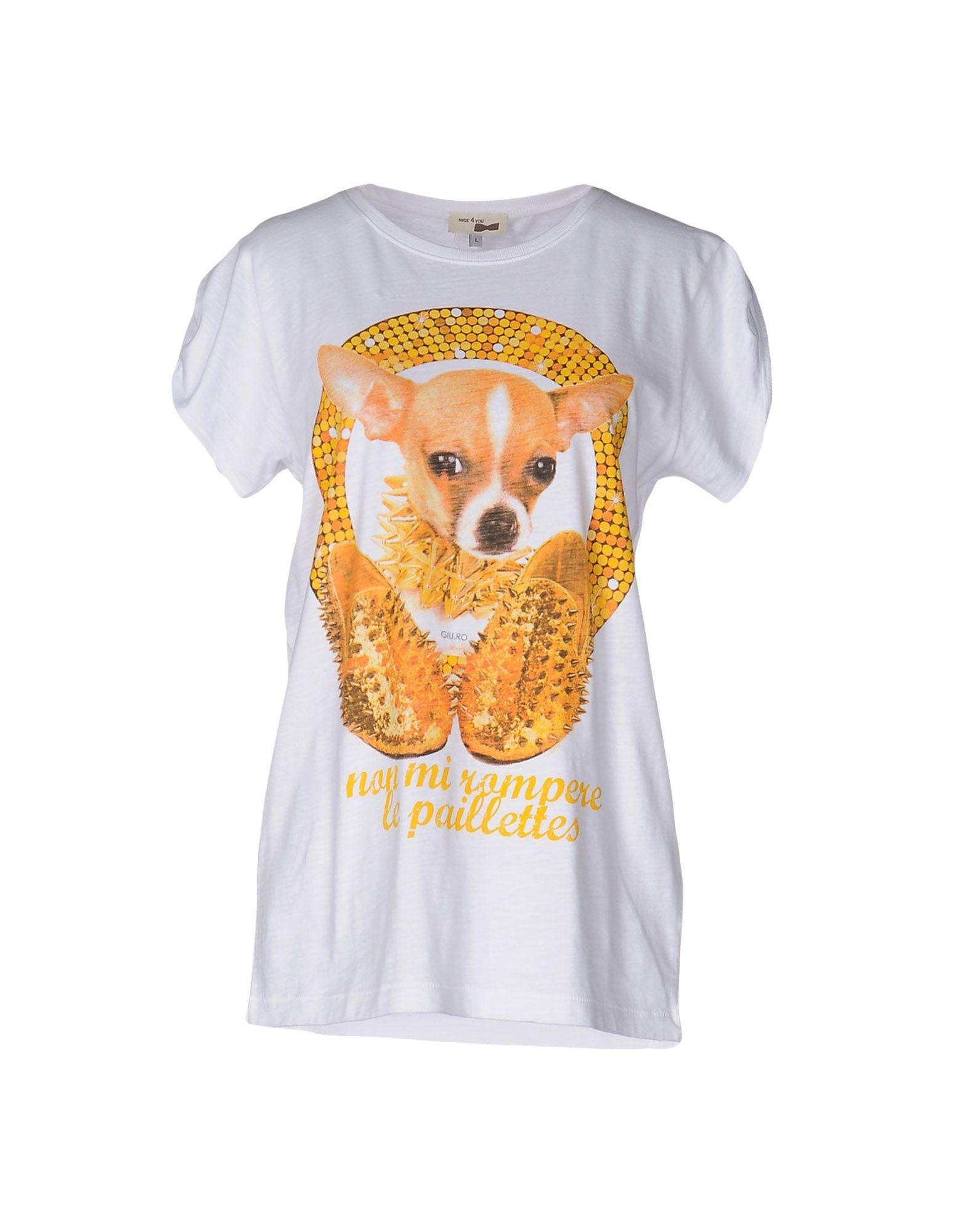 NICE 4 YOU T-shirts