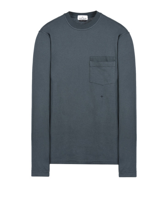 STONE ISLAND Long sleeve t-shirt 22657 'FISSATO' DYE TREATMENT