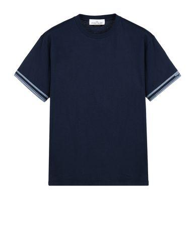 STONE ISLAND Short sleeve t-shirt 2NSXF STONE ISLAND MARINA