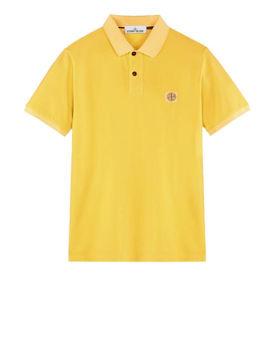 STONE ISLAND Polo shirt 22S67 PIGMENT DYE