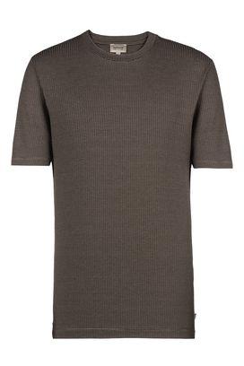 Armani T-Shirt Uomo t-shirt tessuto jacquard bicolor