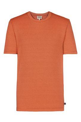 Armani T-Shirt Uomo t-shirt girocollo in jersey a righe