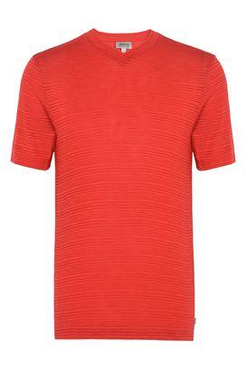 Armani T-Shirt Homme t-shirt en jersey à col en v