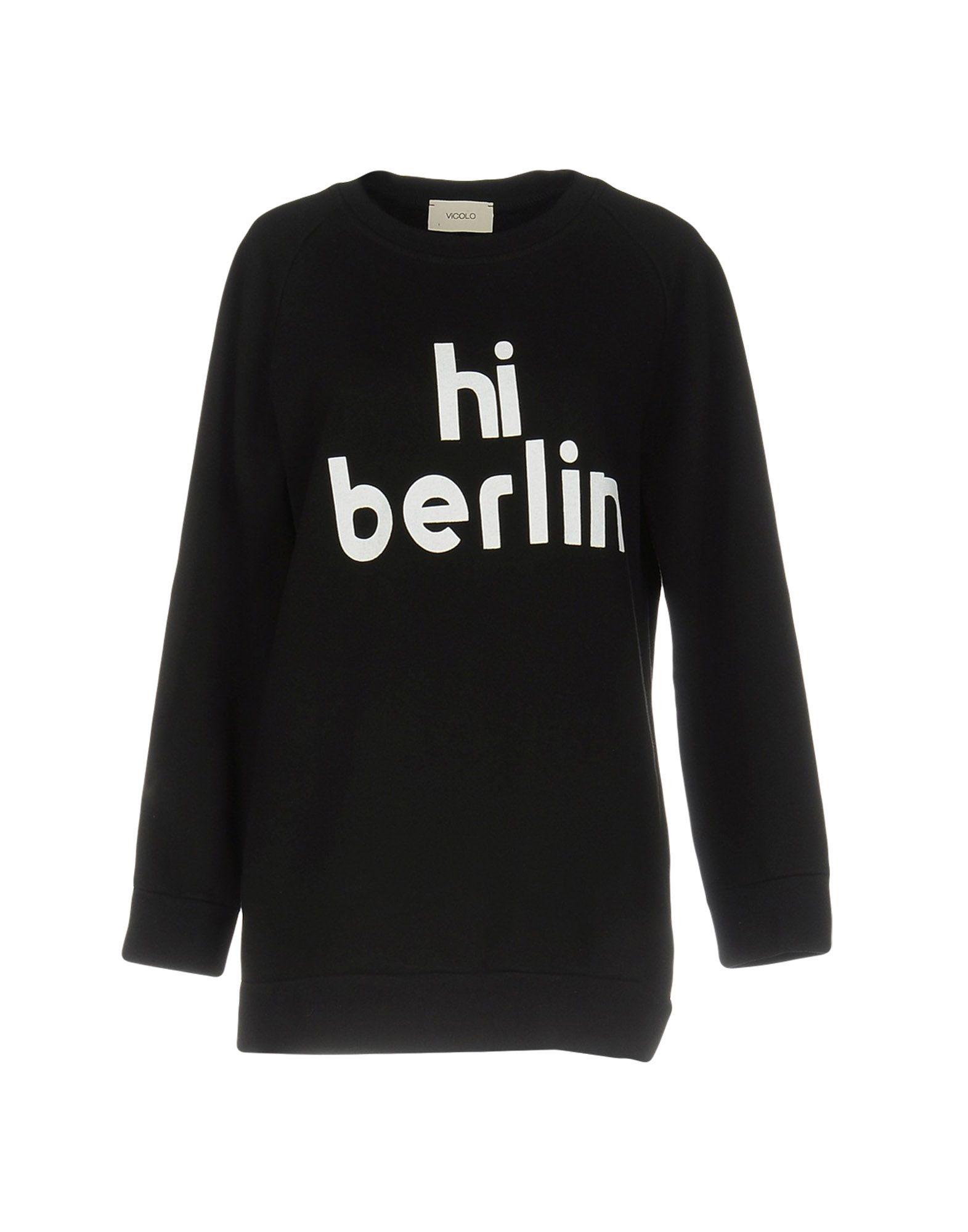 vicolo female vicolo sweatshirts