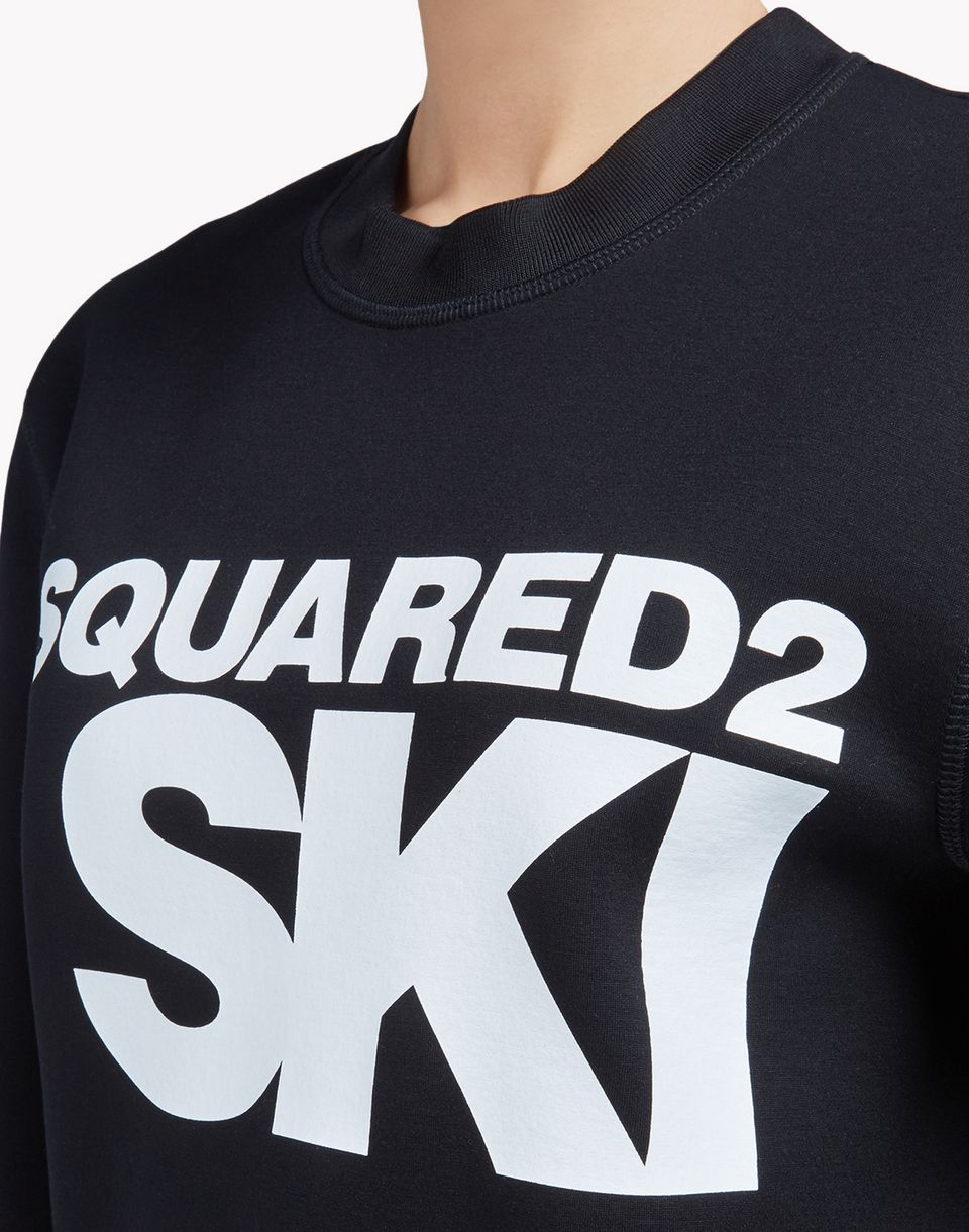 ski sweatshirt tops & tees Woman Dsquared2