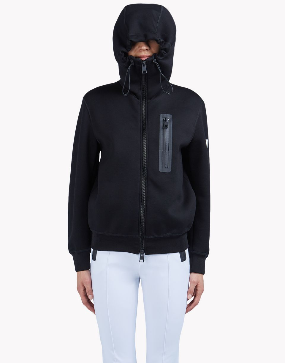 zipped hooded sweat jacket tops & tanktops Damen Dsquared2