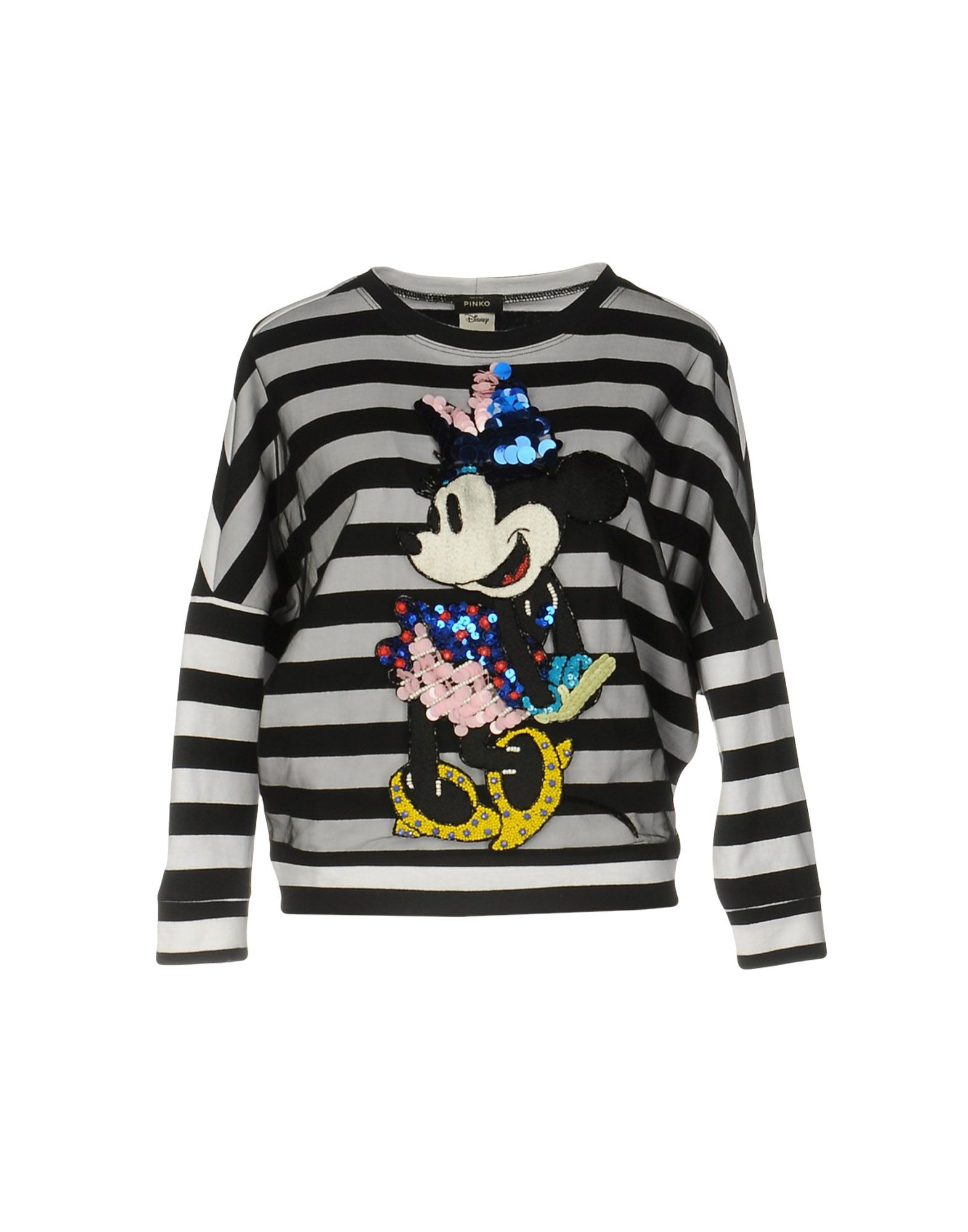 pinko black female pinko black sweatshirts