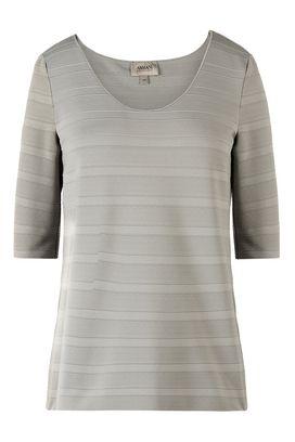 Armani T-Shirt Donna t-shirt jacquard a righe tono su tono