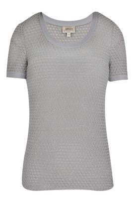 Armani T-Shirt Donna t-shirt in jersey con disegno in rilievo