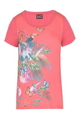Armani T-Shirt manica corta Donna t-shirt in jersey di cotone