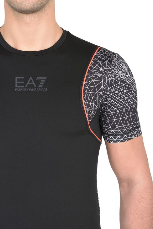 T-SHIRT IN JERSEY STRETCH : T-Shirt manica corta Uomo by Armani - 4