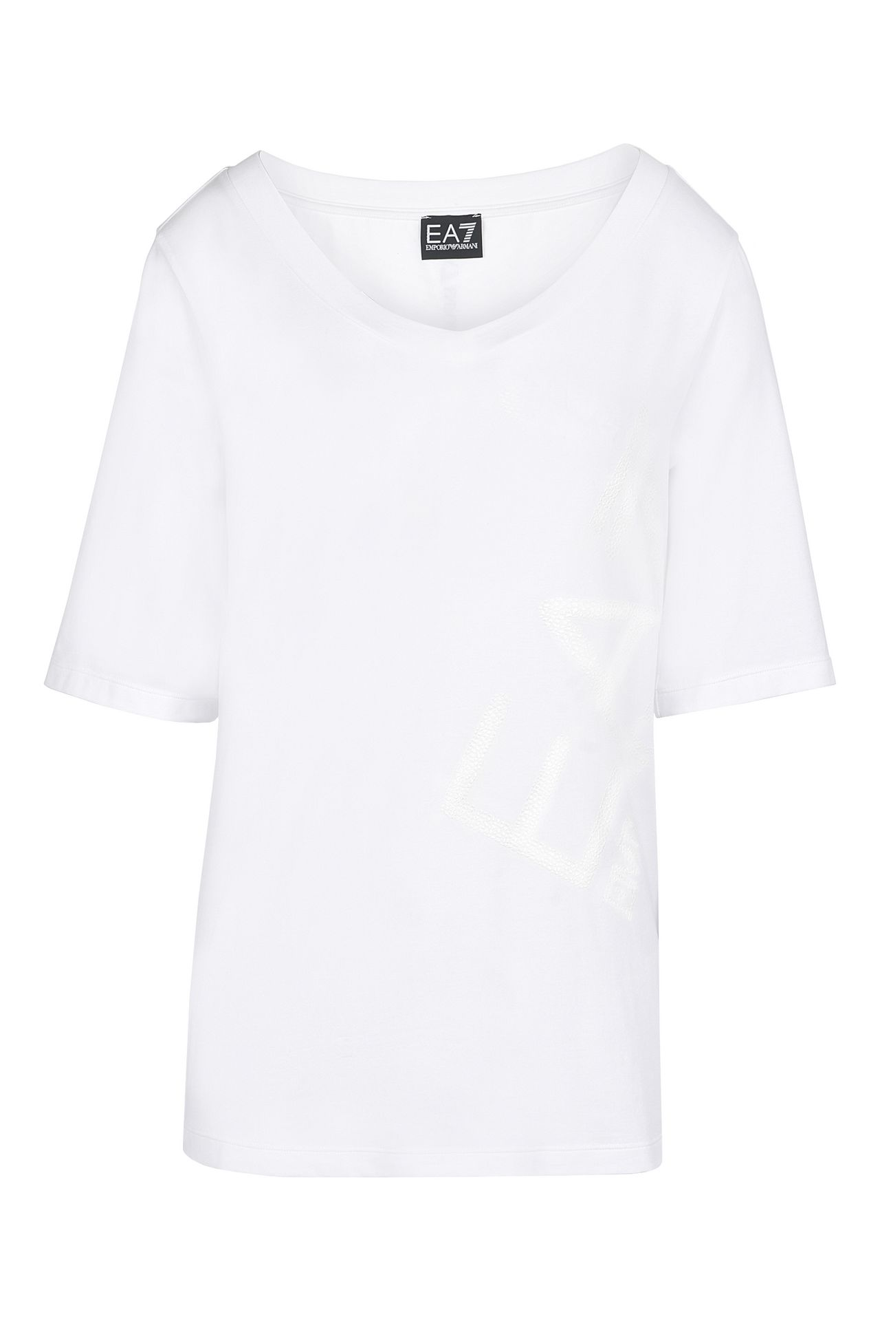 White t shirt for womens - Armani Short Sleeved T Shirts Women T Shirts And Sweatshirts