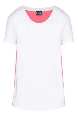 Armani T-Shirt manica corta Donna t-shirt in cotone stretch