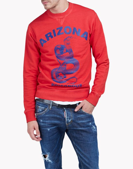d2 arizona sweatshirt camisetas y tops Hombre Dsquared2