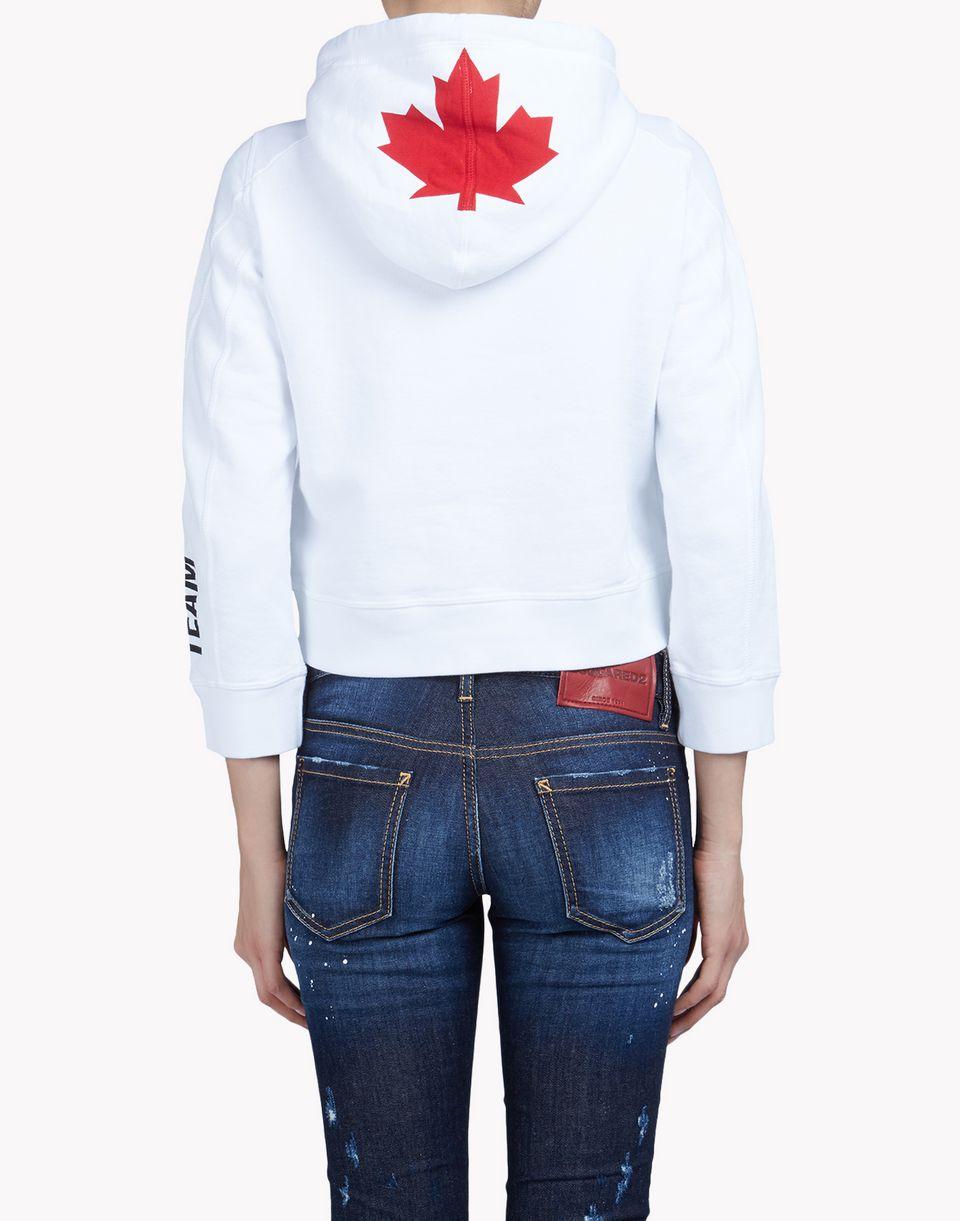 Dsquared2 Canada logo hoodie TwqW1