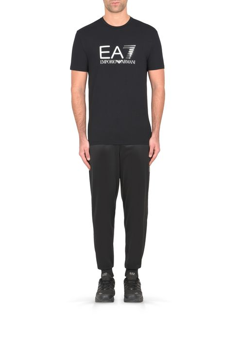 T-SHIRT IN COTONE STRETCH : T-Shirt manica corta Uomo by Armani - 2