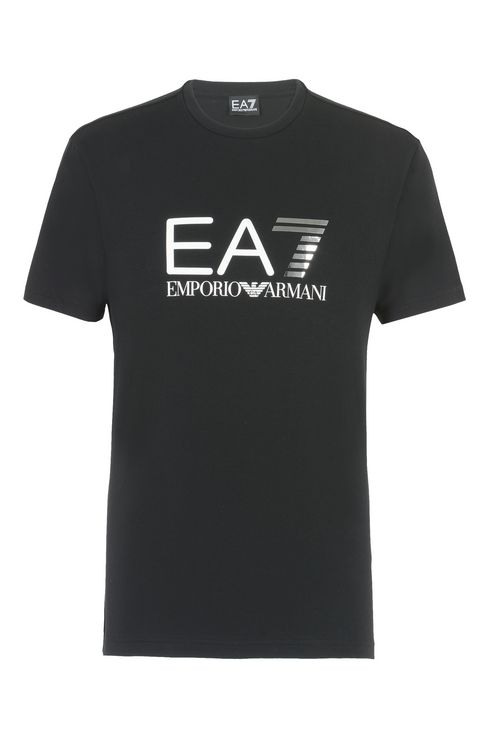 T-SHIRT IN COTONE STRETCH : T-Shirt manica corta Uomo by Armani - 1