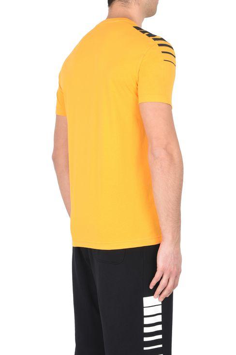 T-SHIRT IN COTONE : Polo maniche corte Uomo by Armani - 3